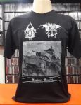 Aryan Blood & Evil - Ancient Empire-German Southern Brotherhood (Camiseta Manga Curta - Tamanho G)