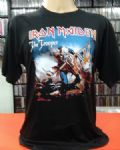 Iron Maiden - The Trooper (Camiseta Manga Curta - Tamanho G)