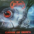 Obituary - Cause Of Death (Roadracer Records-1990/Netherlands First Print) (Imp/Vinil - Com Encarte)
